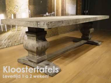 robuuste kloostertafel Vigor 260x100 showroom utrecht (5)