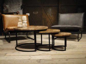 ronde salontafels