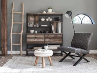 boekenkast met laden