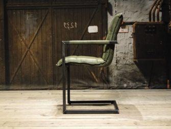 industriele groene stoel