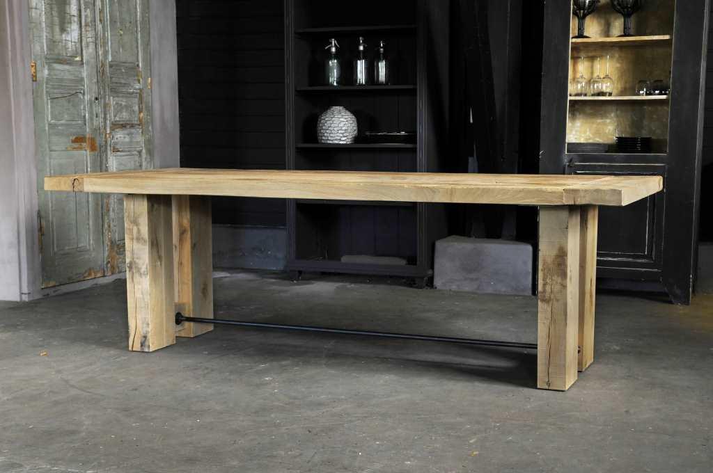 Robuuste Eiken Tafel : Eiken tafels meneer van hout top kwaliteit voor een lage prijs