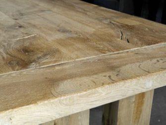 Tafel op maat abbaye massief eiken robuustetafels