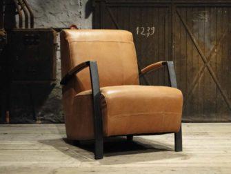 walnut fauteuil