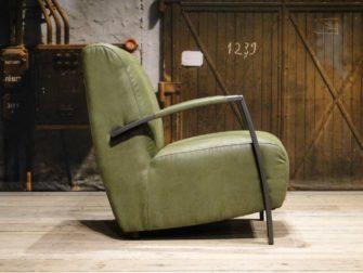 groene industriele stoel