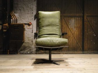 industriele fauteuil met armleuning