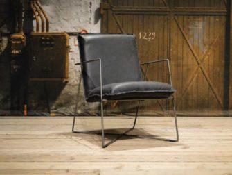 leren design fauteuil