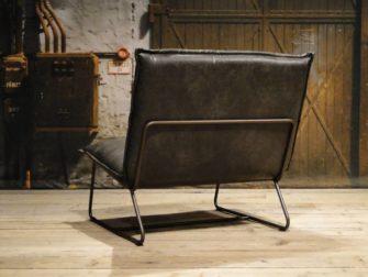 grijze fauteuil