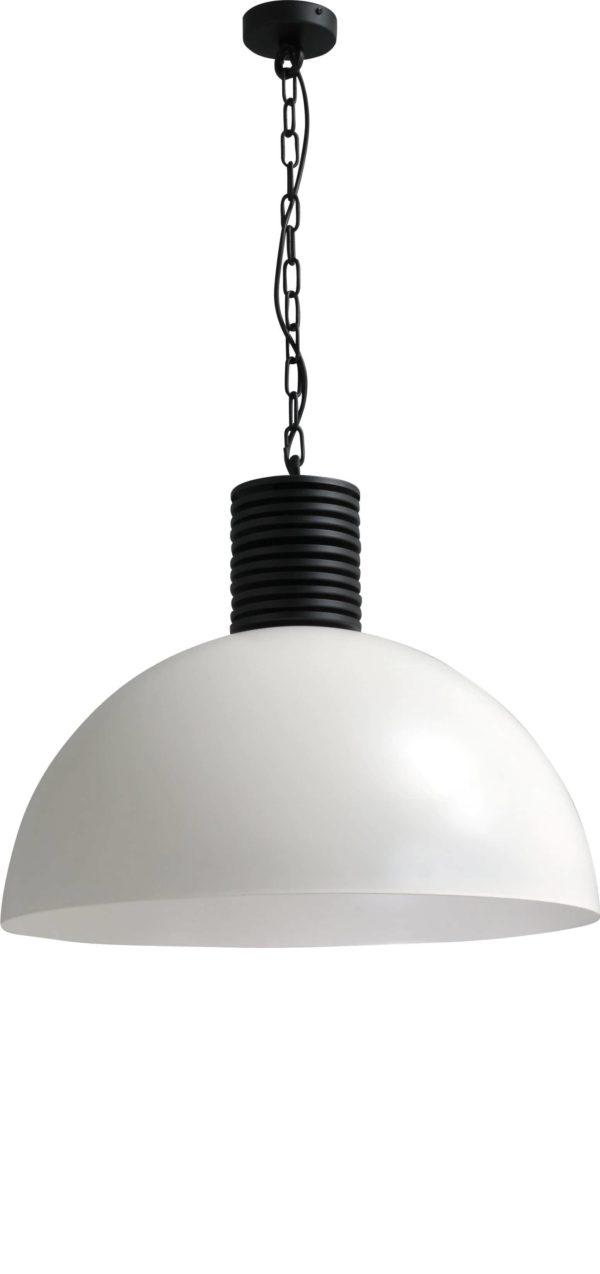 hanglamp white outside white inside