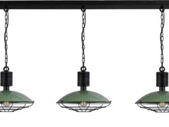 hanglampen 3 lichts groen