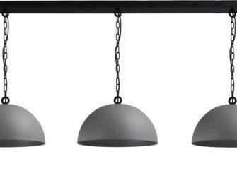 messing hanglamp 3 kappen