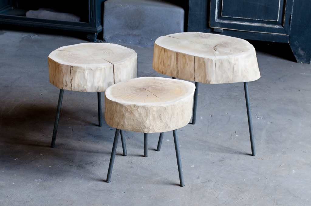 Tafel Van Boomstam : Boomstam salontafel tronco robuustetafels
