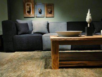 massieve teak houten salontafel corrado