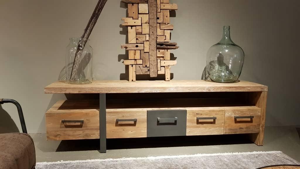 TV-meubel Canzano 5 laden - 190x50x55cm (8)