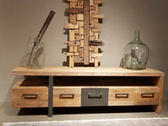 TV-meubel Canzano 5 laden - 190x50x55cm (9)