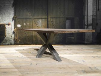 industriele matrix poot tafel
