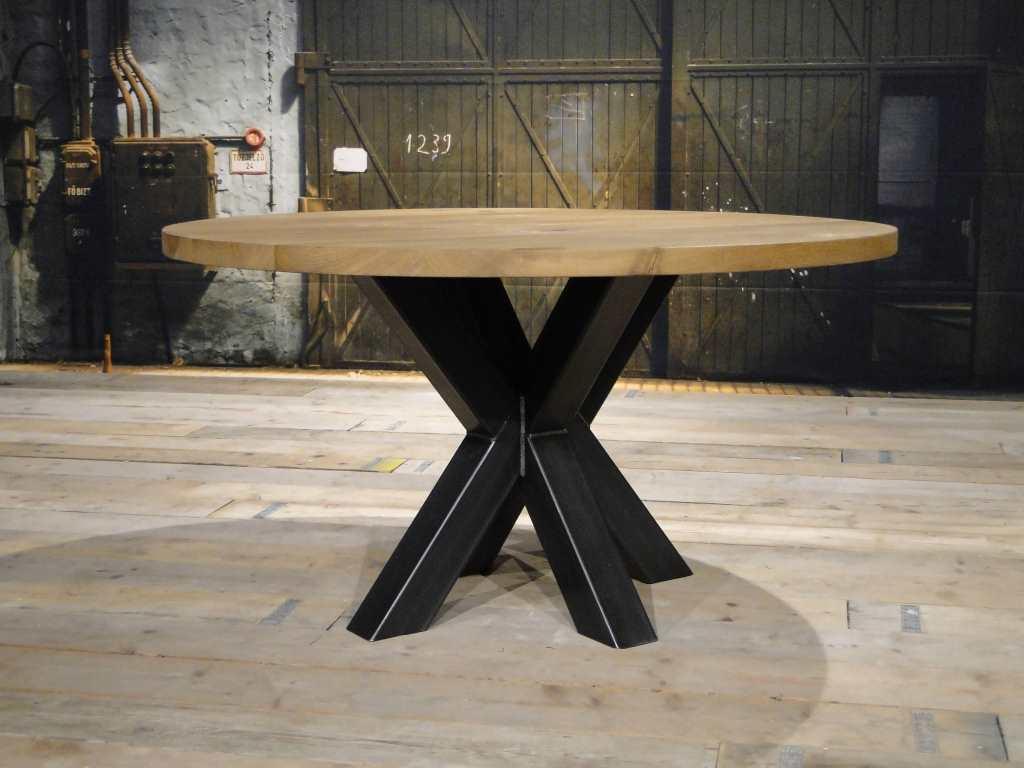 Vierkante tafel calais ook rond verkrijgbaar robuustetafels.nl