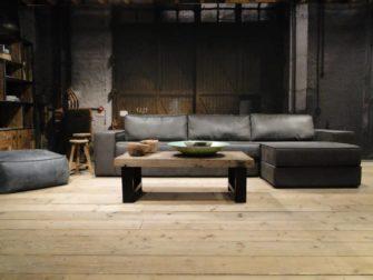 robuuste bank met lounge gedeelte