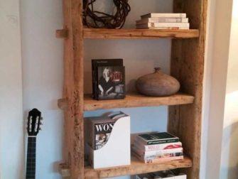 boekenkast abruzzo oud hout