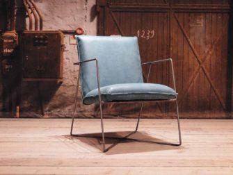design fauteuil santino petrol
