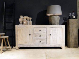 elm houten dressoir