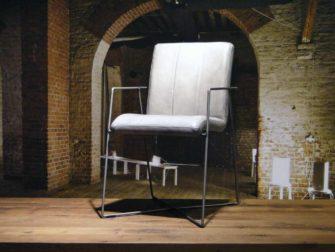 etkamerstoel Santino vertical - vintage grey