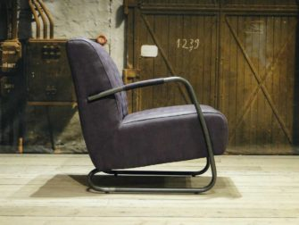 industriele fauteuil paars