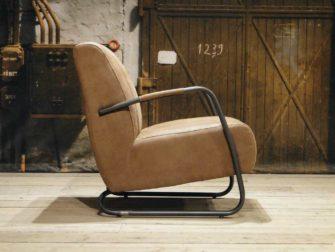 Fauteuil Cambrai vertical - relax stof cinnamon