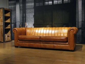 3,5 zits bankstel chesterfield camel