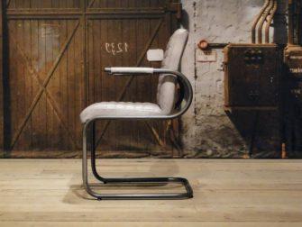 Eetkamerstoel Bomazi horizontal - Vintage grey