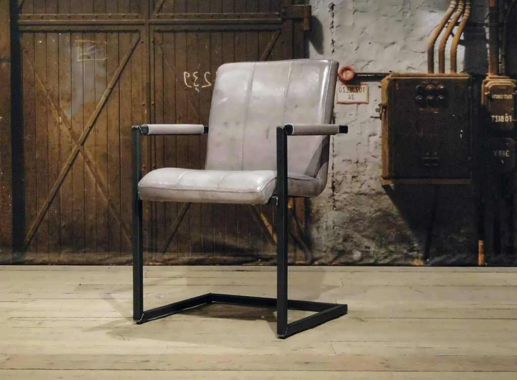 Eetkamerstoel vienne vertical - vintage grey