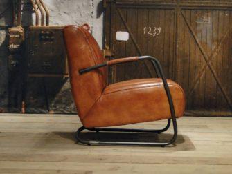 Fauteuil Cambrai vertical - buffel leer light brown