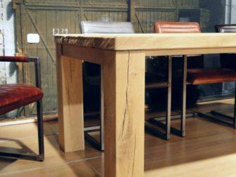 Tafel Campo - 240x100 ultra matte lak 6cm dik balkenblad