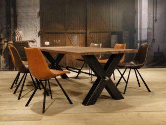 Robuuste Eiken Tafel : Oud eiken tafel vitrolles uniek maatwerk robuustetafels